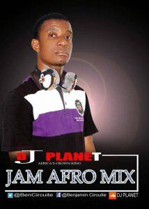 DJ Planet – Jam Afro Mix 2018