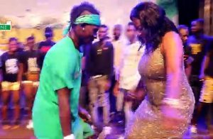 WATCH: Catherine Afeku, Patapaa's dance battle at Kundum Festival Mega Jam
