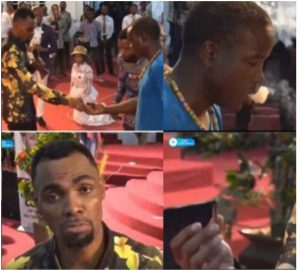 Rev. Obofour tells church member to smoke weed during service