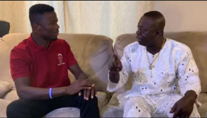 Neglected Judas sadly recounts how he was part of the founding members of Peace FM (Watch)